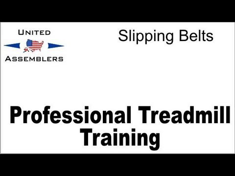 Treadmill Belt Slippage Adustments