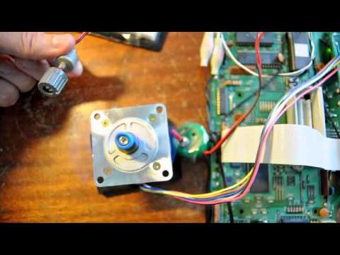 Controlling Stepper Motor speed by Arduino and Potentiometer
