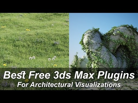3ds max Plugins 1 - Forest Pack lite (Free)
