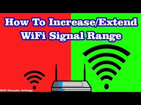 How to increase extend Home WiFi Network Range | WiFi Repeater Configuration