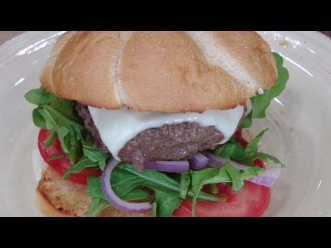 Basic Beef Burger - Recipe by Laura Vitale - Laura in the Kitchen Episode 176