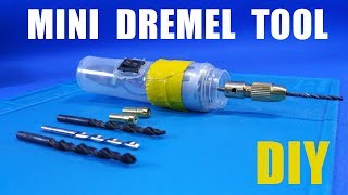POWERFUL Mini Drill at home | How to make a mini Dremel tool