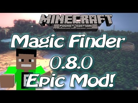 [0.8.0] Minecraft Pocket Edition Mod - magic wand
