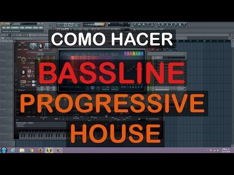 Como Hacer Un Bassline De Progressive House   Fl Studio 11, 12   Harmor   Tutorial