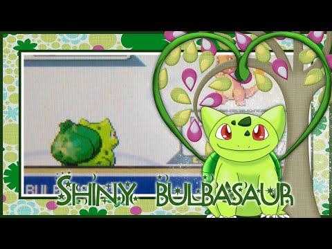 LIVE!!! Shiny Bulbasaur after 19,528 SR's (Pokemon FireRed)