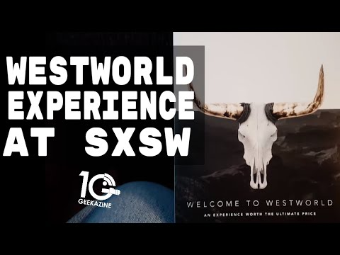 Westworld Experience at SXSW: Walk Through Sweetwater with me