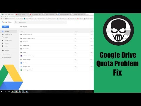 Google drive storage quota problem (solved)