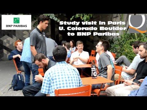 Visit to BNP Paribas