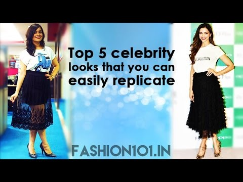 Top 5 Celebrity Looks You Can Easily Replicate