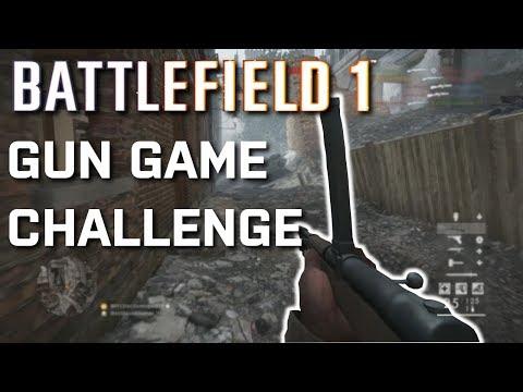 Battlefield 1 GUN GAME CHALLENGE! ( Feat. AvidGamer )