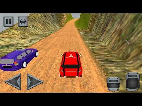 SUV Simulator  Prado Extreme Car Race 4x4 uphill 18