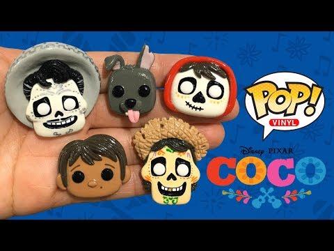 FUNKO POP! DISNEY COCO! Stop Motion Polymer Clay Tutorial