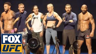 The best from UFC 213 Open Workouts | UFC ON FOX