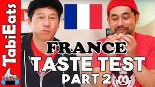 Japanese Try French Food Part 2 (Provence)