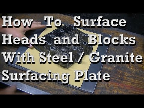 How to Surface Heads and Blocks with Surfacing Plate