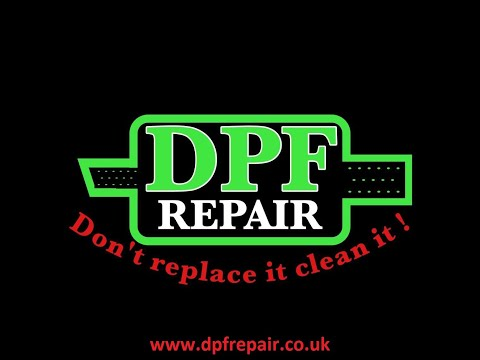 BMW 530d totally blocked DPF being cleaned by Dpf repair in Hull