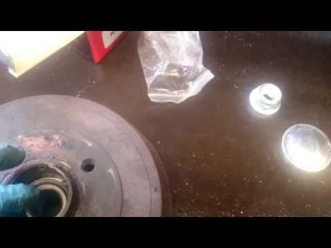 How To Replace a Rear Wheel Bearing On a Nissan Micra