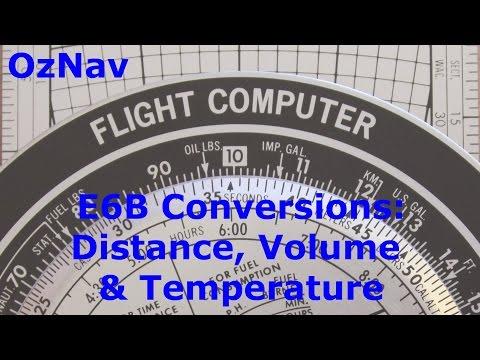 AusNav #4 - E6B Flight Computer - Conversions Tutorial