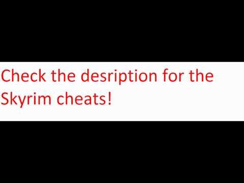 Skyrim Cheats pc