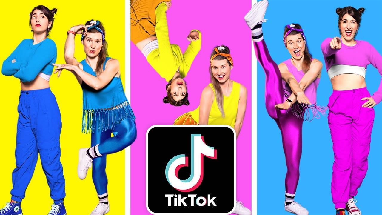JUST DANCE IN REAL LIFE CHALLENGE || How To Be Popular! TikTok Dance Compilation by 123 GO!Challenge