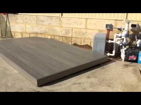 Composite decking installation - Burns Beach