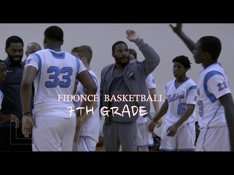 FIDONCE Basketball vs New Heights   7th Grade   Philly vs NY Battle!!!!!