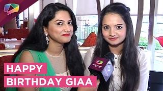 Giaa Manek Celebrates her Birthday with India Forums   EXCLUSIVE