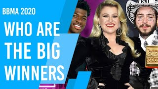 BILLBOARD MUSIC AWARDS 2020 FULL WINNERS LIST