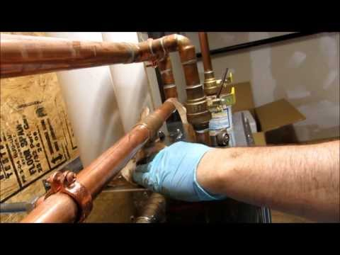 ONE INCH PIPE LEAK FIXED !!!! HOLE IN PIPE :PLUMBING TIPS: