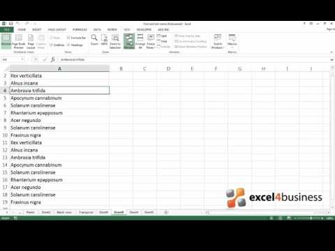 How to View Two Parts of a Spreadsheet Simultaneously