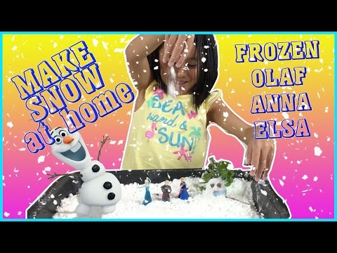 Easily Make SNOW and SNOWMAN at Home Using BAKING SODA AND HAIR CONDITIONER |Fun EqualsBella