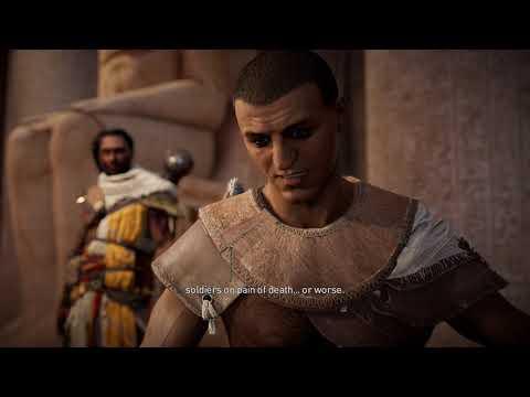 Assassin's Creed Origins Gameplay Episode 1 (4K Resolution)