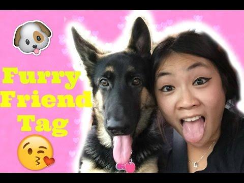 Furry Friend Tag | German Shepherd