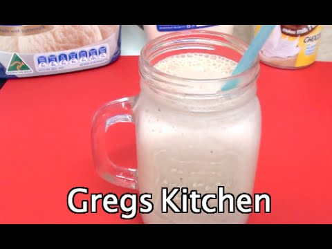 HOW TO MAKE A CHOCOLATE THICK SHAKE - Greg's Kitchen