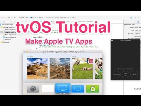 tvOS Tutorial - Make Apple TV Apps