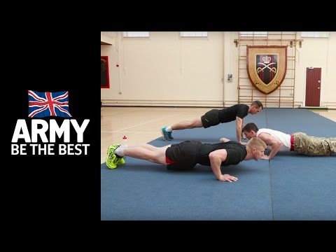11 Days to get Army Fit: Press Ups - Fitness - Army Jobs