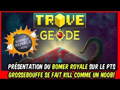 TROVE - Test du mode Boumbombe Royale (battle royale) GB se fait kill comme un noob