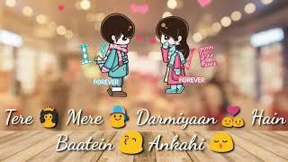 💖 New whatsapp status video 💖 | Slap Cute Couples 💕 |Tere Mere | Armaan Malik | WhatsApp Status💔