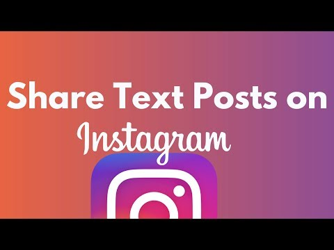 How to Share Text Posts on Instagram - iPhone Hacks