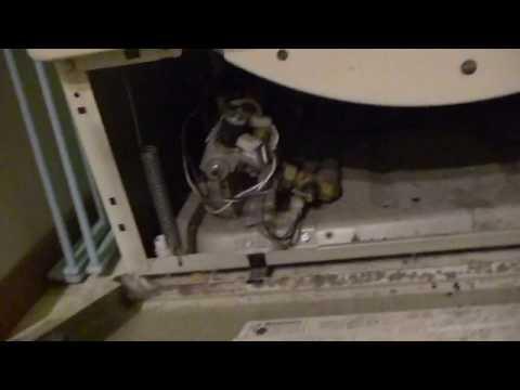 Old Whirlpool design dryer belt install