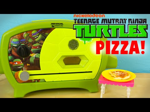 TMNT Teenage Mutant Ninja Turtles Pizza Oven - Make Tiny Real Pizza!