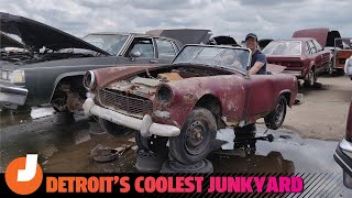 Exploring Detroit's Coolest Junkyard with David Tracy and Kristen Lee | Jalopnik