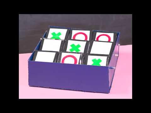 How to Make a Cardboard Tic Tac Toe Game at Home