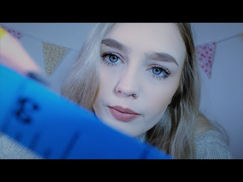 ASMR | Face Measuring Roleplay - Soft Spoken & Whispered Up Close Personal Attention ✨