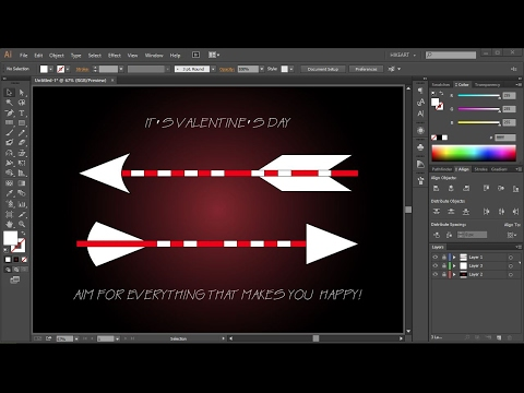 How to Draw an Arrow in Adobe Illustrator | 3