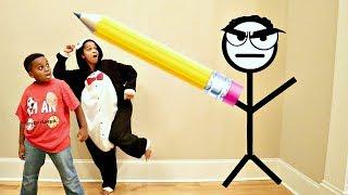 DOODLE SHILOH vs Shiloh And Shasha! - Onyx Kids
