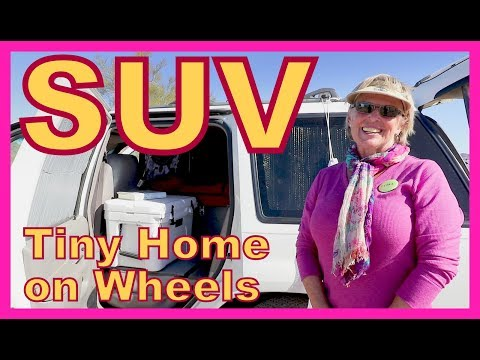 Converting a Ford Explorer Into  a Tiny Home on Wheels