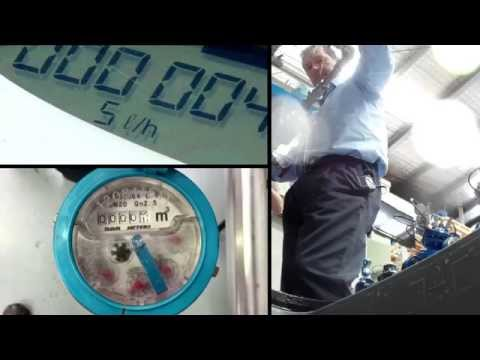 Smart water meters drive-by demonstration by Bermad Water Technologies