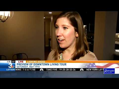 Kelly Curtin Previews Downtown Living Tour 6am 5/17/18