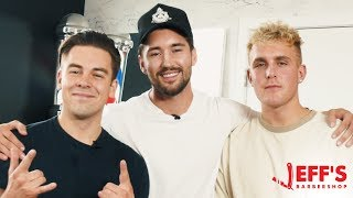 HOW TO GET A FREE PROMO FROM JAKE PAUL! Ft. Cody ko | Jeff's barbershop